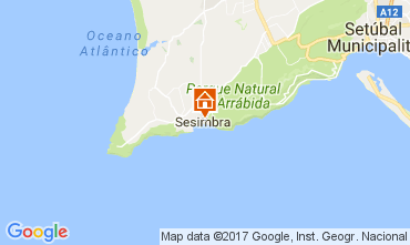 Map Sesimbra Apartment 108404