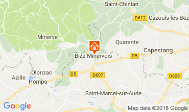 Map Bize-Minervois House 115078