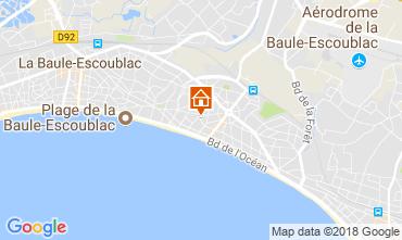 Map La Baule Apartment 114701
