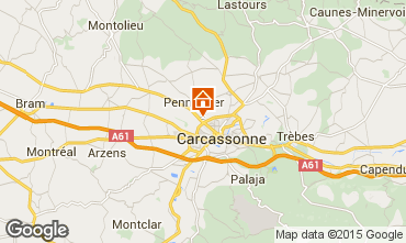 Map Carcassonne Apartment 18836