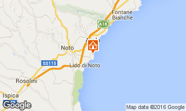 Map Avola Villa 75799