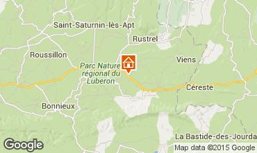 Map Rustrel Villa 81653