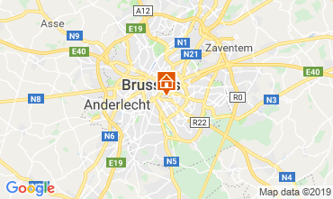 Map Brussels Apartment 118000