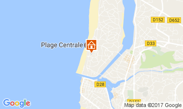 Map Hossegor Apartment 109515