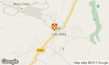 Map Les Gets Chalet 1353