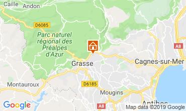 Map Grasse Villa 118551