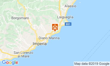 Map San Bartolomeo al Mare Apartment 99692