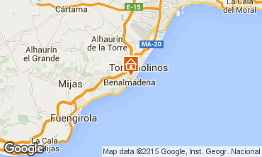 Map Torremolinos Apartment 44794