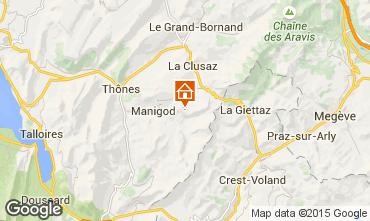 Map Manigod-Croix Fry/L'étale-Merdassier One-room apartment 77964
