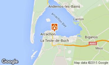 Map Arcachon Apartment 92358
