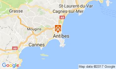 Map Antibes Villa 111155