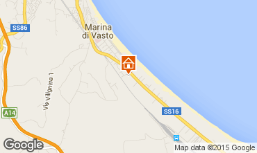 Map Vasto Apartment 76892