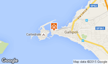 Map Gallipoli One-room apartment 86067