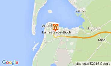 Map Arcachon Apartment 93098