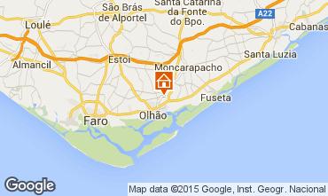 Map Olhão Apartment 100082