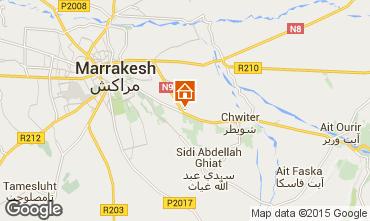 Map Marrakech Villa 75429