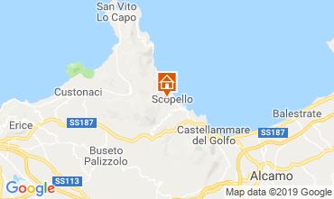 Map Scopello Villa 80627