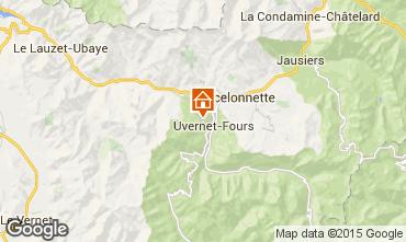 Map Pra Loup Chalet 76233