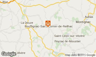 Map Les Eyzies de Tayac House 12399