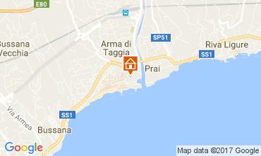 Map Sanremo Apartment 73544