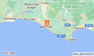 Map Sperlonga Apartment 97604