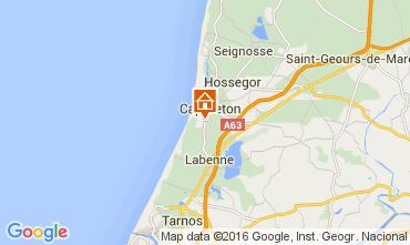 Map Capbreton Apartment 44878