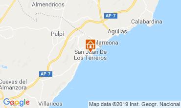 Map San Juan de los Terreros Villa 108508