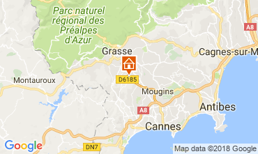 Map Cannes House 113345