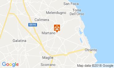 Map Martano Villa 117503