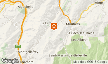 Map Valmorel One-room apartment 59132