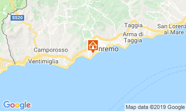 Map Sanremo Apartment 102654