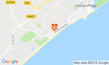 Map Valras-Plage House 117077