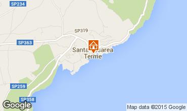 Map Santa Cesarea Terme Villa 78977