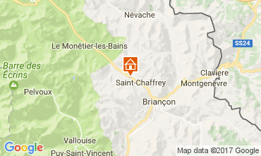 Map Serre Chevalier Apartment 51095