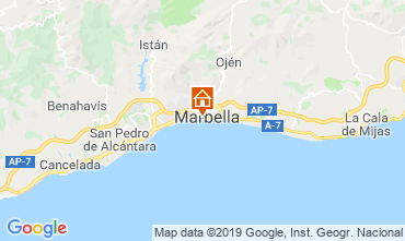 Map Marbella Apartment 67370