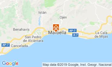 Map Marbella Apartment 67370