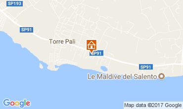Map Torre Pali Villa 110928