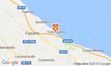 Map Torre Canne Apartment 109503