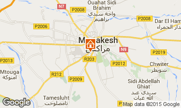 Map Marrakech Villa 81043
