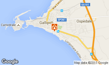 Map Gallipoli Apartment 89231