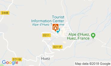 Map Alpe d'Huez One-room apartment 116497