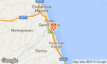 Map Porto San Giorgio Mobile home 86295