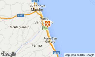 Map Porto San Giorgio Mobile home 86295