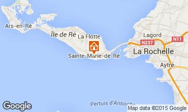 Map Sainte Marie de Ré House 97376