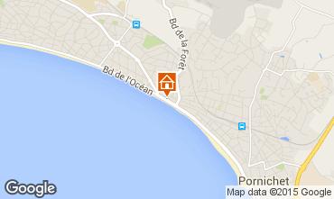 Map La Baule Apartment 85111