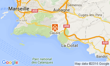 Map Cassis Apartment 104495