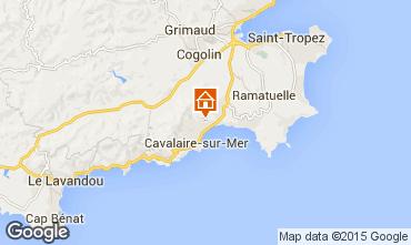 Map Cavalaire-sur-Mer Apartment 83249