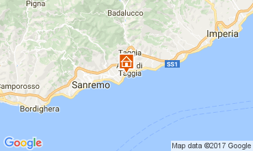 Map Sanremo Apartment 73053