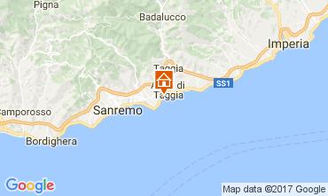 Map Sanremo Apartment 73053
