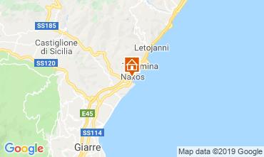 Map Giardini Naxos One-room apartment 118704